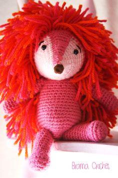 Espinete Amigurumi Barrio Sésamo. (Sesame Street doll)