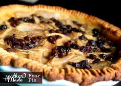 pear pie recipe