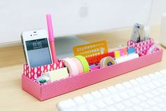 Box in box pink - perfect for my desk!