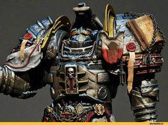 Grey Knights, Knight Art, Crusaders, Warhammer 40000, Dieselpunk, Emperor, Medieval, Miniatures, Models