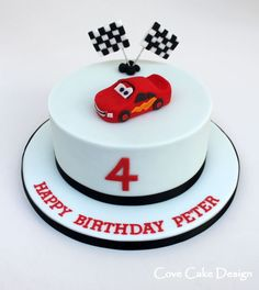 Image result for Tier II- Lightning McQueen Cake - YouTube