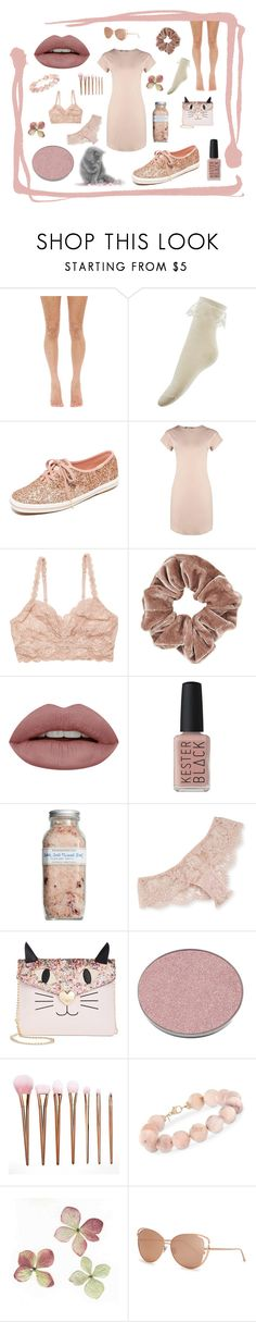 """Blush: Casual"" by nova-super ❤ liked on Polyvore featuring Lirika Matoshi, Monsoon, Keds, Boohoo, Cosabella, Topshop, Kester Black, Farmaesthetics, I.D. SARRIERI and Betsey Johnson"