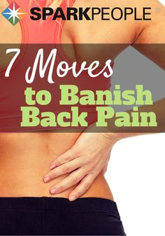 Get rid of your back pain today with these exercises, and live your healthiest life!