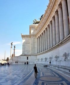 Altare della Patria (Altar of the Fatherland) also known as the Monumento Nazionale a Vittorio Emanuele II, Roma