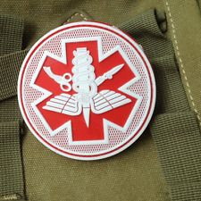 Original 3d Medic Red Cross Patch Reflective Emt Ir Patches Military Tactical Morale Patch Rubber Biker Fastener Pvc Glow In Dark Badges Music Memorabilia