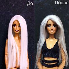 Ооак часть 2  #barbie #barbiestyle #barbiedoll #ooak