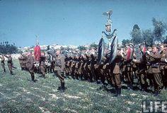 Madrid - 1939. - Legia Kondor - orkestar na paradi pobjede