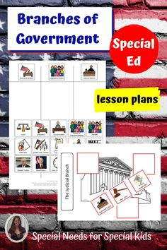 Branches of Government Unit for Special Education. This unit includes over 70 pages of material. This unit was developed for students with special learning needs, especially autism. It was completely updated following the November 2020 election. #specialneedsforspecialkids #SPED #specialed #SpecialEducation #lessonplans #socialstudies #government #branchesofgovernment 6th Grade Special Education, Teaching Special Education, Teaching Social Studies, Branches Of Government, High School Students, Special Needs, Elementary Schools, Lesson Plans, Autism
