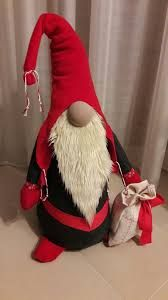 Plaid Sitting Santa Gnome with Candy Canes Plush Table Top Christmas FigureKim Everett's media statistics and analytics Felt Christmas Ornaments, Christmas Gnome, Father Christmas, Christmas Projects, Scandinavian Christmas Decorations, Scandinavian Gnomes, Santa Crafts, Holiday Crafts, Elves And Fairies