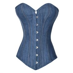 So I now own this... Can't be a western author without a Denim Corset, right?