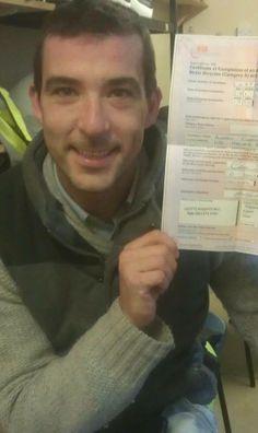 Well done Andrew. #motorcycletrainingmanchester #cbtmanchester 0161 973 3450