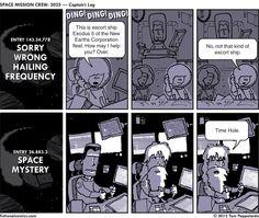LOG! #scifi #comic #webcomic