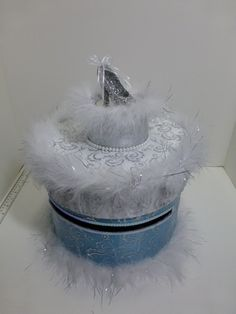 Cinderella Gift Card Box by MariaECollection on Etsy, $138.00