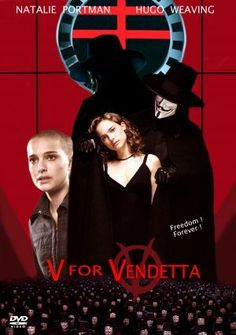 V For Vendetta poster, t-shirt, mouse pad V For Vendetta Poster, V For Vendetta 2005, V For Vendetta Movie, 54 Movie, Hugo Weaving, Classic Movie Posters, Natalie Portman, Guerrilla, Sci Fi