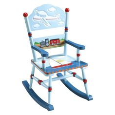 Guidecraft Transportation Rocking Chair @ £84.99