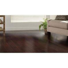 home decorators collection strand woven dark mahogany 3/8 in. x 5