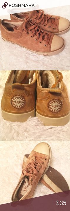 Ugg Evera Sneakers Ugg Sneakers with some wear  Good PreOwned Condition UGG Shoes Sneakers