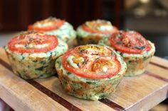 Mini Spinach Cheesy Muffin