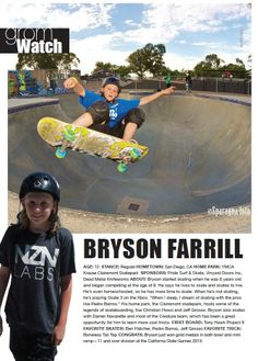 Issue 1, GromWatch: Bryson Farrill