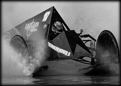 Swamp Buggy - racing through the water