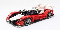 LEGO Set MOC-3092 LeMans Prototype