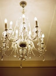 chandelier, exactly like the one in my hallway at 75 Shelocta Road...