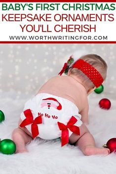 Need a special keepsake ornament for baby's first Christmas? Check out these top 10 beautiful keepsake ornaments perfect for remembering your baby's first Christmas and holiday season! Baby First Christmas Ornament, Babies First Christmas, Kids Christmas, Christmas Gifts, Baby Shower Gifts, Baby Gifts, Gifts For New Parents, Newborn Care, Kids And Parenting