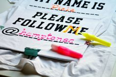 Personalizar una camiseta con letras en relieve
