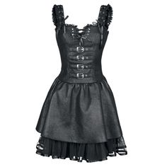 Dark romance dress black