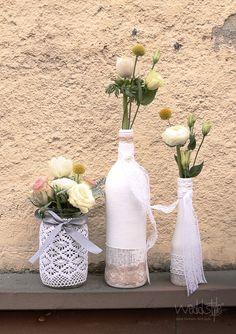 vintage vasen und gl ser f r hochzeit mieten weddstyle vintage hochzeitsdeko pinterest. Black Bedroom Furniture Sets. Home Design Ideas