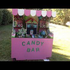 Bar à bonbon baptême