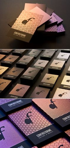 Contreforme business cards - Business Cards - Creattica