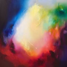 Liv Vardy - Daydreamer - Painting - Abstract
