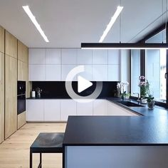 32 Amazing Modern Wood Kitchen Design Ideas - Unless you plan to spend the rest of your life in your current home if you are planning a kitchen makeover then best advice is not only to think about. Kitchen Room Design, Interior Design Kitchen, Kitchen Decor, Kitchen Ideas, Zen Kitchen, Interior Garden, Kitchen Trends, Kitchen Layout, Kitchen Colors
