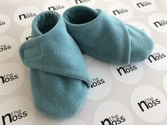 These booties, paired with the body-vest, will keep baby soft and comfy, no doubt!