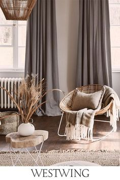 Boho Living Room, Home And Living, Living Room Decor, Bedroom Decor, Design House Stockholm, Modern Home Interior Design, Scandi Style, Bedroom Carpet, Elegant Homes