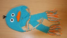 Perry the Platypus Hat AND Scarf Set. $21.00, via Etsy.
