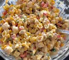 Sałatka z kurczakiem i makaronem - Blog z apetytem Snack Recipes, Snacks, Food Platters, Pasta Salad, Macaroni And Cheese, Food And Drink, Menu, Vegetables, Cooking