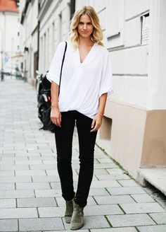 How to Wear Your Ankle Boots When It's Warm Out - Boots / Shoes Style Guide