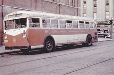 Surface Transportation System(NY) Mack bus.