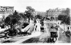 An 1890's view of Lewisham High Street looking south (upstream) from Lewisham Road