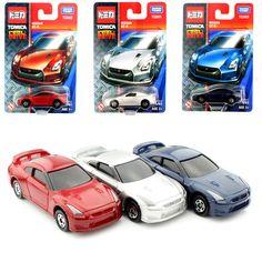 3ピース/セットトミーミニスケールtomica赤ちゃんダイキャスト日産gtrオートプラスチックモデルレースcars toys緩いplay安いコレクション用子供