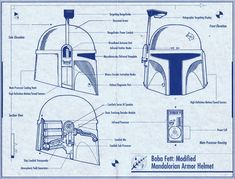 boba fett character sketch - Google Search