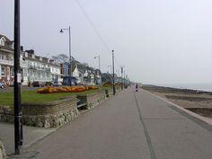 Felixstowe UK - Boardwalk
