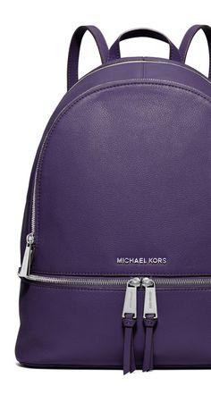 The classic backpack gets a sleek, mature update. | MICHAEL Michael Kors backpack