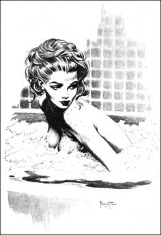 Frank Frazetta-Drawing-3