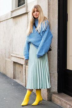 ミラノのファッション学生のお気に入りコーデを拝見