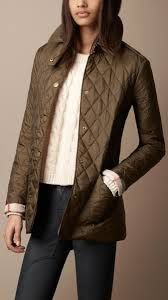 Love the Burberry Brit 'Rendell' Diamond Quilted Jacket on ...