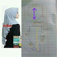 Hijab Dress Party, Hijab Outfit, Clothing Patterns, Dress Patterns, Sewing Patterns, Tudung Shawl, Abaya Pattern, Instant Hijab, Hijab Jeans