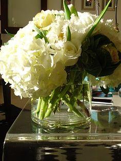 .white flowers!